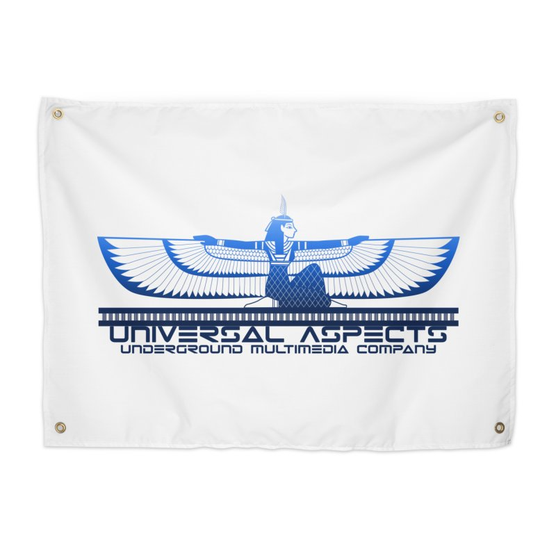 Universal Aspects™ Maat Goddess Accessories Home Tapestry by Aspect Black™