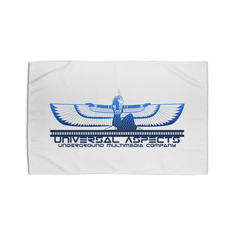 Universal Aspects™ Maat Goddess Accessories Home Rug by Aspect Black™