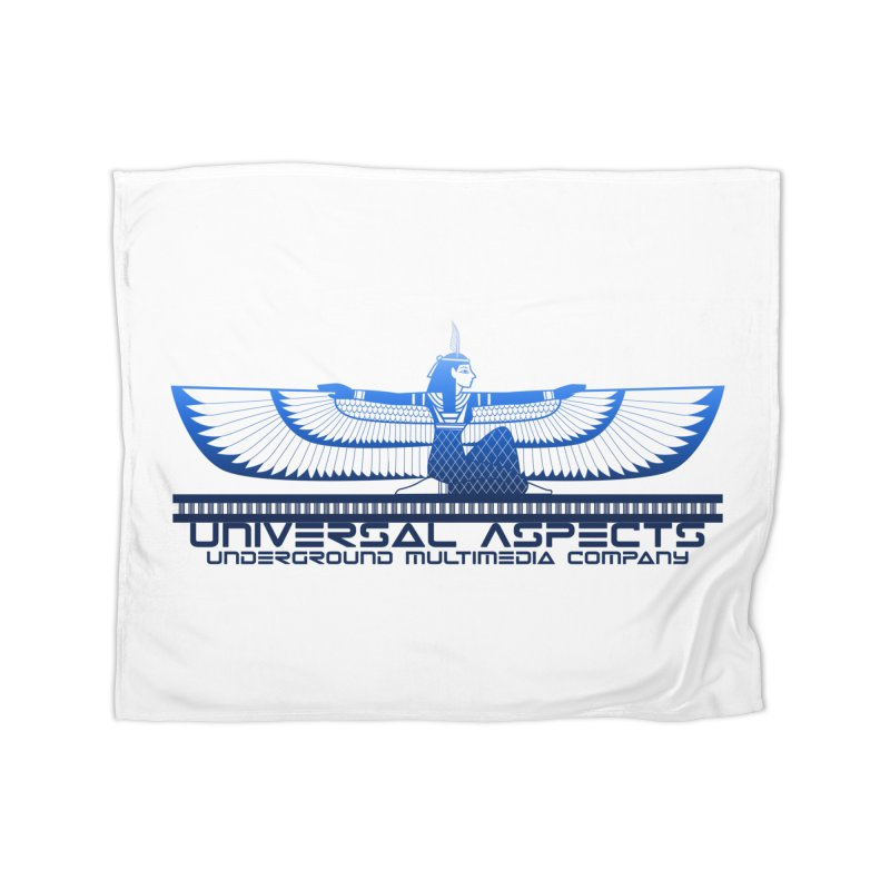 Universal Aspects™ Maat Goddess Accessories Home Blanket by Aspect Black™