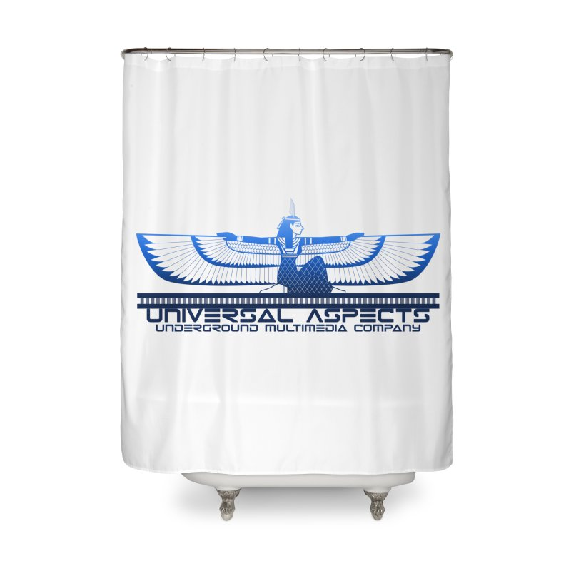 Universal Aspects™ Maat Goddess Accessories Home Shower Curtain by Aspect Black™