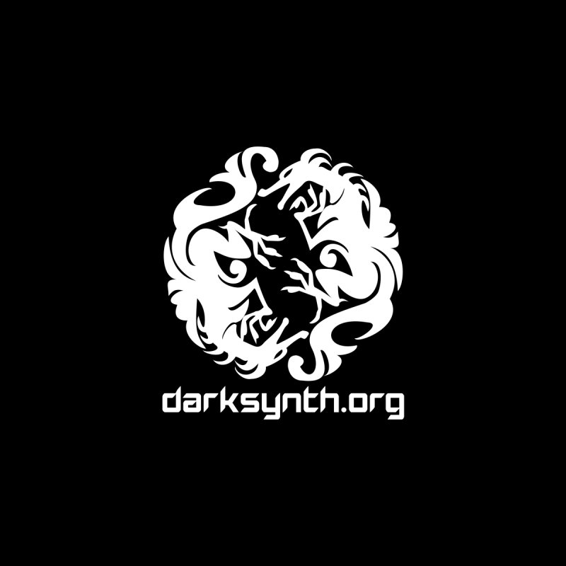 DarkSynth.org Dragon Yin Yang - Dark by Aspect Black™