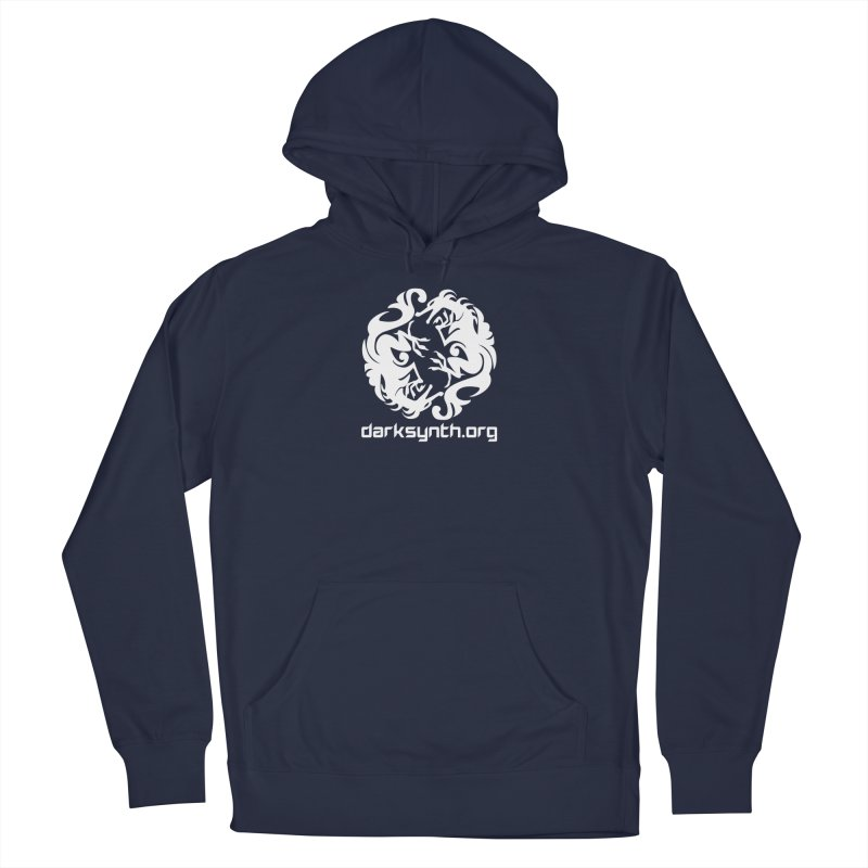 DarkSynth.org Dragon Yin Yang - Dark Women's Pullover Hoody by Aspect Black™
