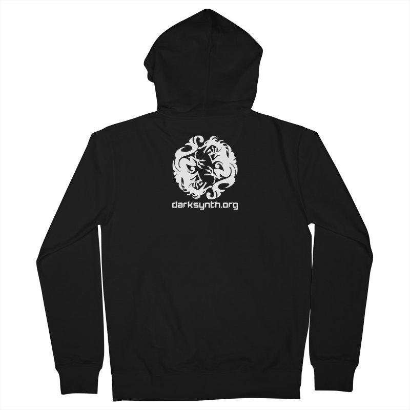 DarkSynth.org Dragon Yin Yang - Dark Women's Zip-Up Hoody by Aspect Black™