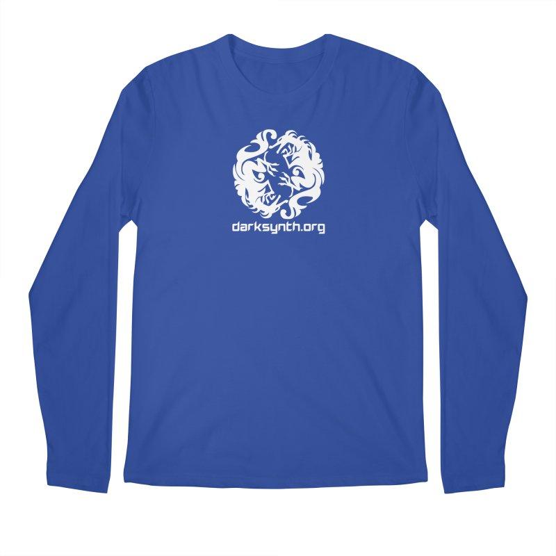 DarkSynth.org Dragon Yin Yang - Dark Men's Longsleeve T-Shirt by Aspect Black™