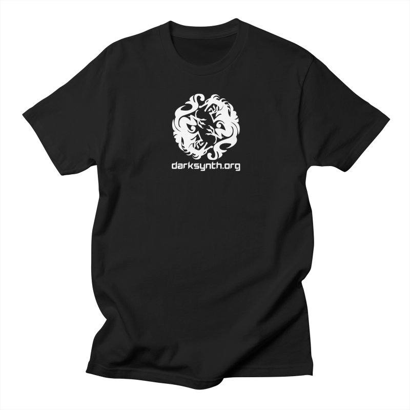 DarkSynth.org Dragon Yin Yang - Dark Men's T-Shirt by Aspect Black™