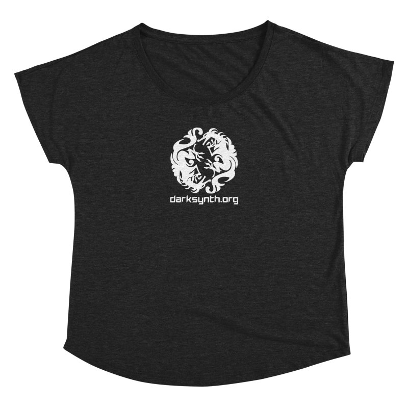 DarkSynth.org Dragon Yin Yang - Dark Women's Dolman by Aspect Black™