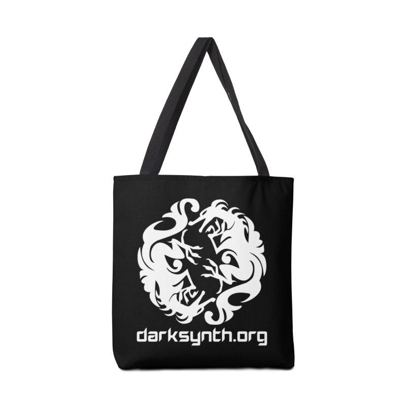 DarkSynth.org Dragon Yin Yang - Dark Accessories Bag by Aspect Black™