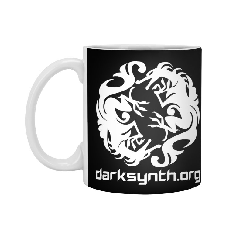 DarkSynth.org Dragon Yin Yang - Dark Accessories Mug by Aspect Black™