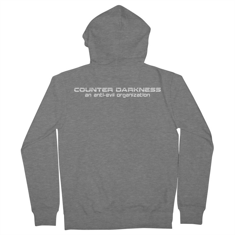 CounterDarkness.org Shirts Men's Zip-Up Hoody by Aspect Black™