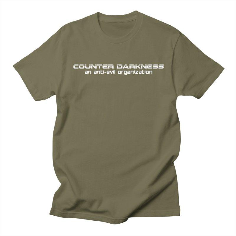 CounterDarkness.org Shirts Men's Regular T-Shirt by Aspect Black™