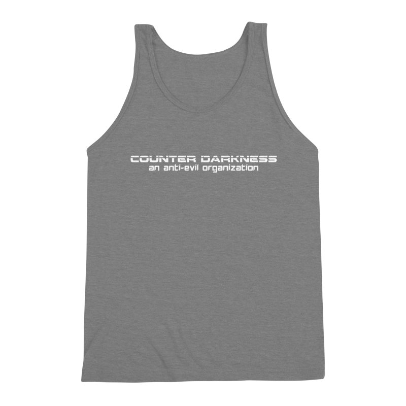 CounterDarkness.org Shirts Men's Triblend Tank by Aspect Black™
