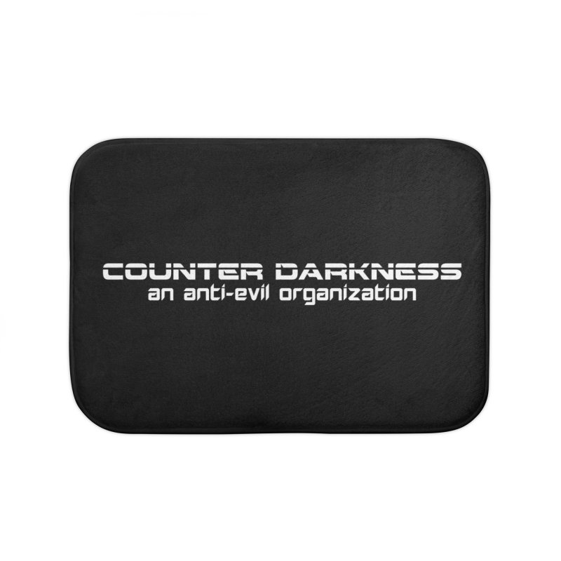 CounterDarkness.org Shirts Home Bath Mat by Aspect Black™