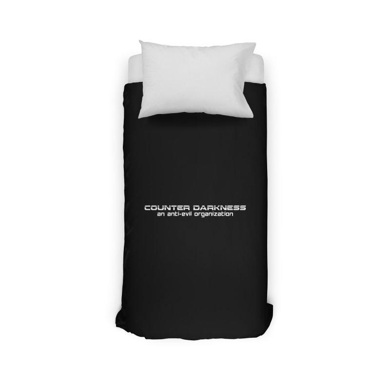 CounterDarkness.org Shirts Home Duvet by Aspect Black™
