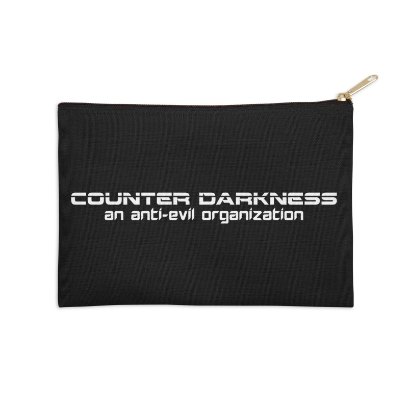 CounterDarkness.org Shirts Accessories Zip Pouch by Aspect Black™