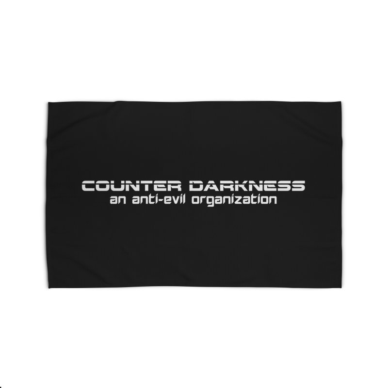 CounterDarkness.org Shirts Home Rug by Aspect Black™