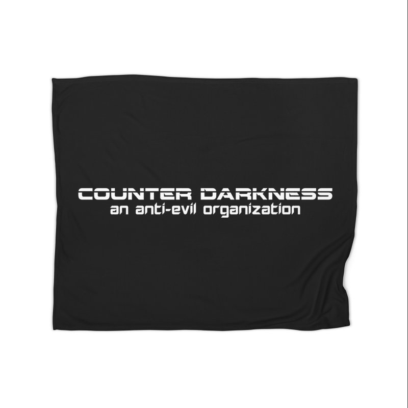 CounterDarkness.org Shirts Home Fleece Blanket Blanket by Aspect Black™