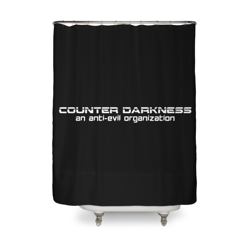 CounterDarkness.org Shirts Home Shower Curtain by Aspect Black™