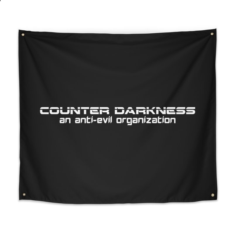 CounterDarkness.org Shirts Home Tapestry by Aspect Black™