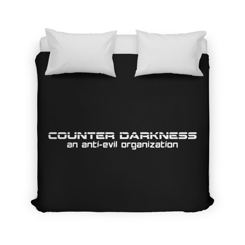 CounterDarkness.org Shirts Home Duvet by Aspect Black™