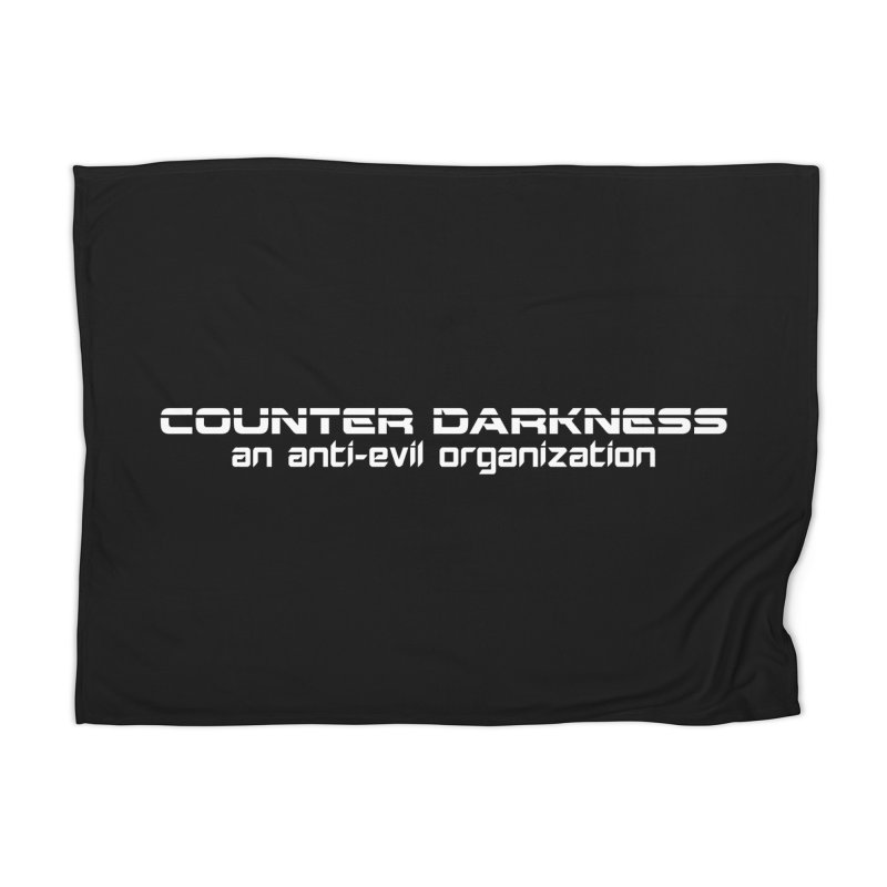 CounterDarkness.org Shirts Home Blanket by Aspect Black™