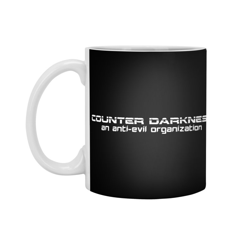 CounterDarkness.org Shirts Accessories Standard Mug by Aspect Black™