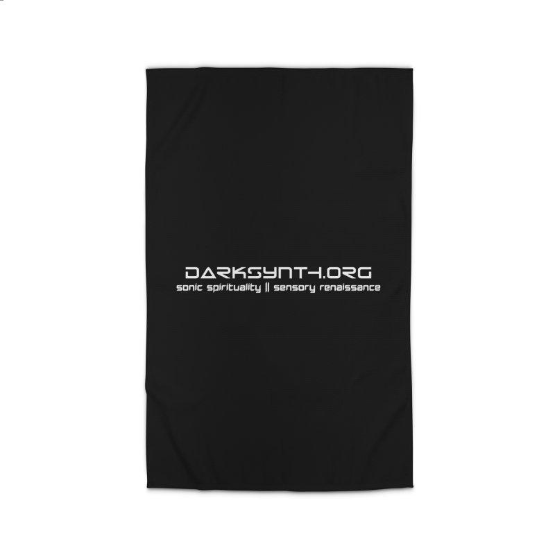 DarkSynth.org - Sonic Spirituality Home Rug by Aspect Black™