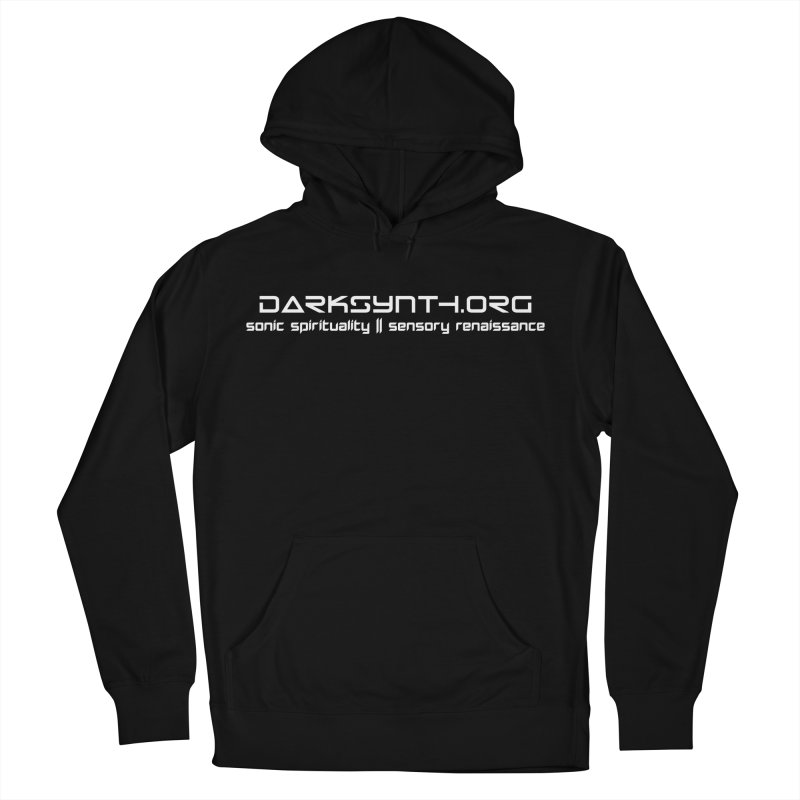 DarkSynth.org - Sonic Spirituality Men's Pullover Hoody by Aspect Black™