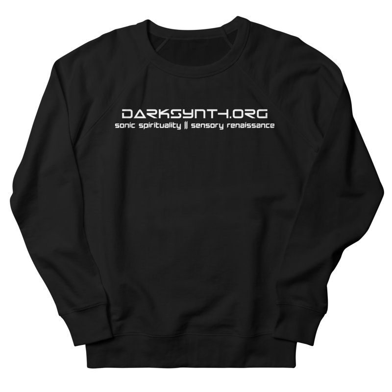 DarkSynth.org - Sonic Spirituality Men's Sweatshirt by Aspect Black™