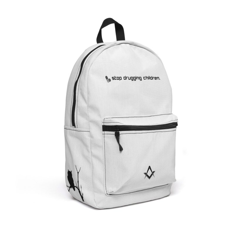 pure white angelic mason backpack Accessories Backpack Bag by Aspects of Black™