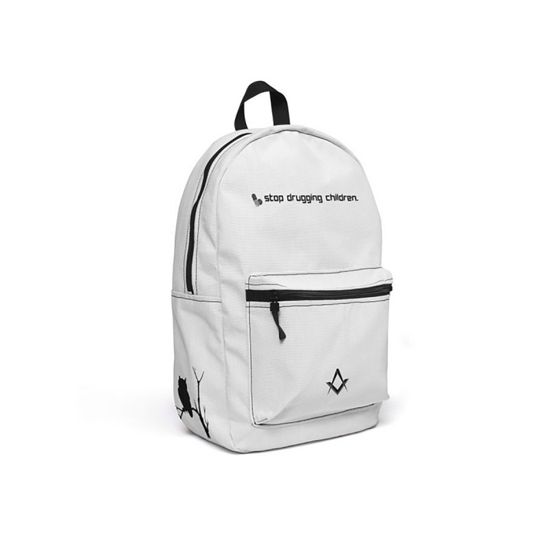 pure white angelic mason backpack by Aspects of Black™