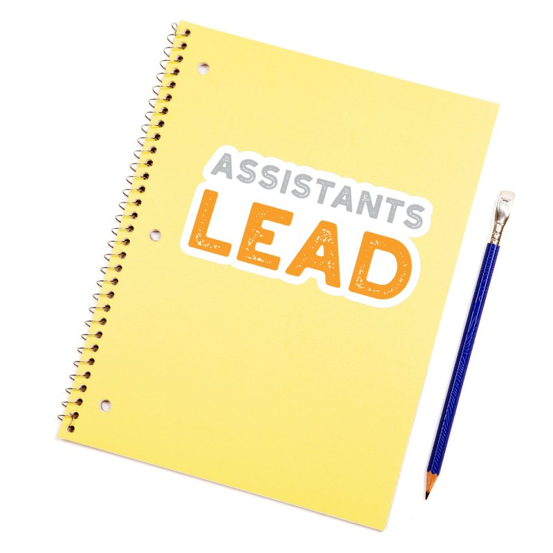 Assistants Lead Swag Accessories Sticker by The Leader Assistant