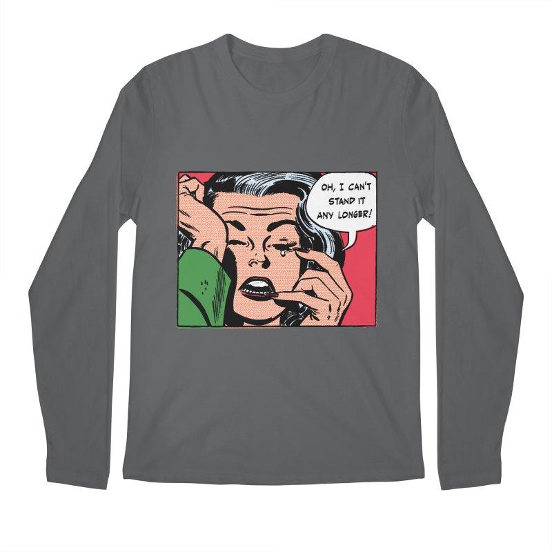 Popmodern Woman Men's Regular Longsleeve T-Shirt by Nearly Astonishing Designs
