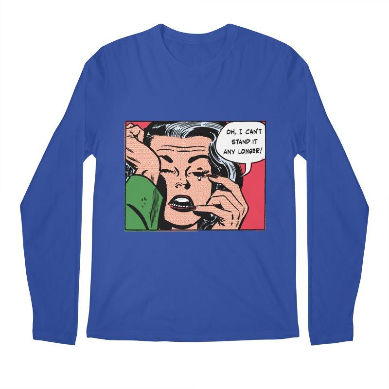 Popmodern Woman Men's Longsleeve T-Shirt by Nearly Astonishing Designs