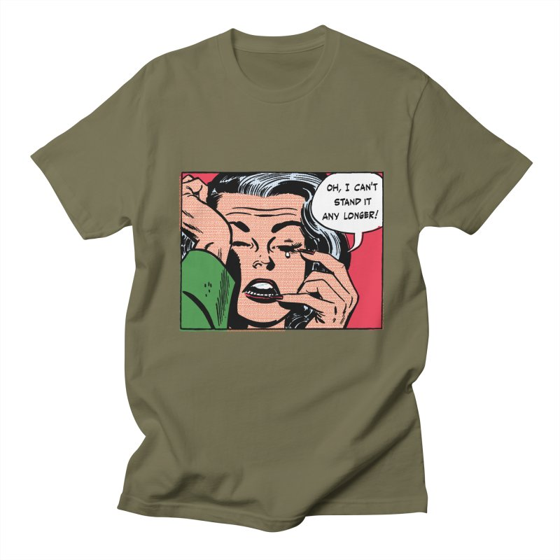 Popmodern Woman Men's T-shirt by Nearly Astonishing Designs