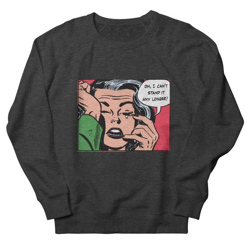 Popmodern Woman Men's Sweatshirt by Nearly Astonishing Designs