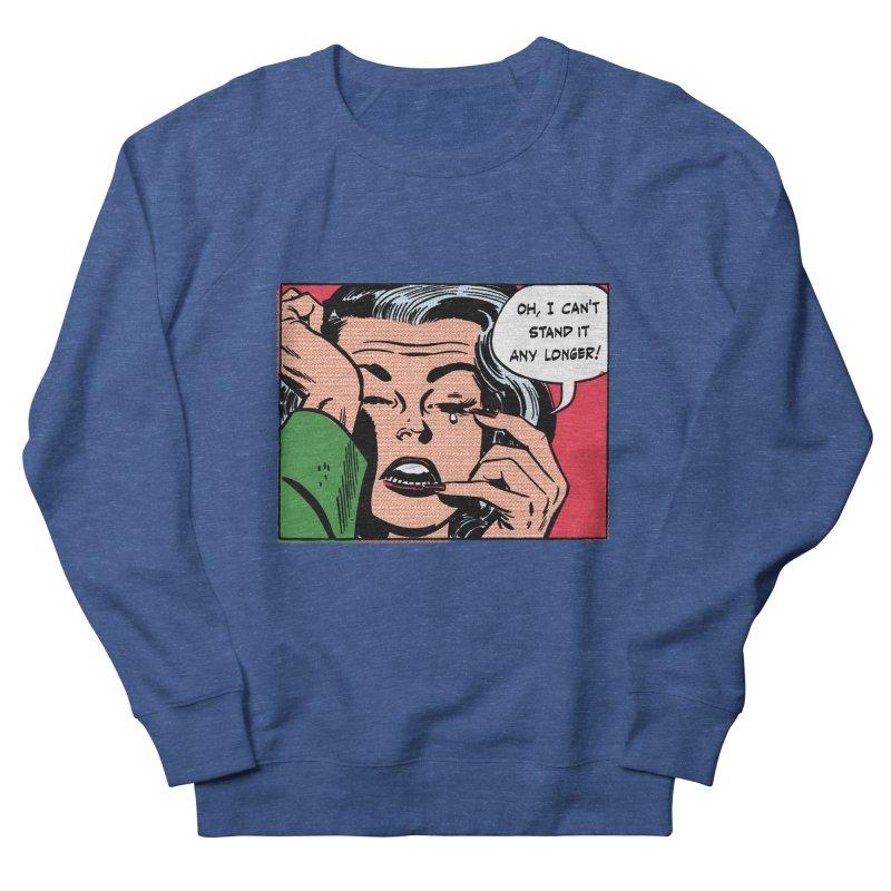 Popmodern Woman Men's French Terry Sweatshirt by Nearly Astonishing Designs