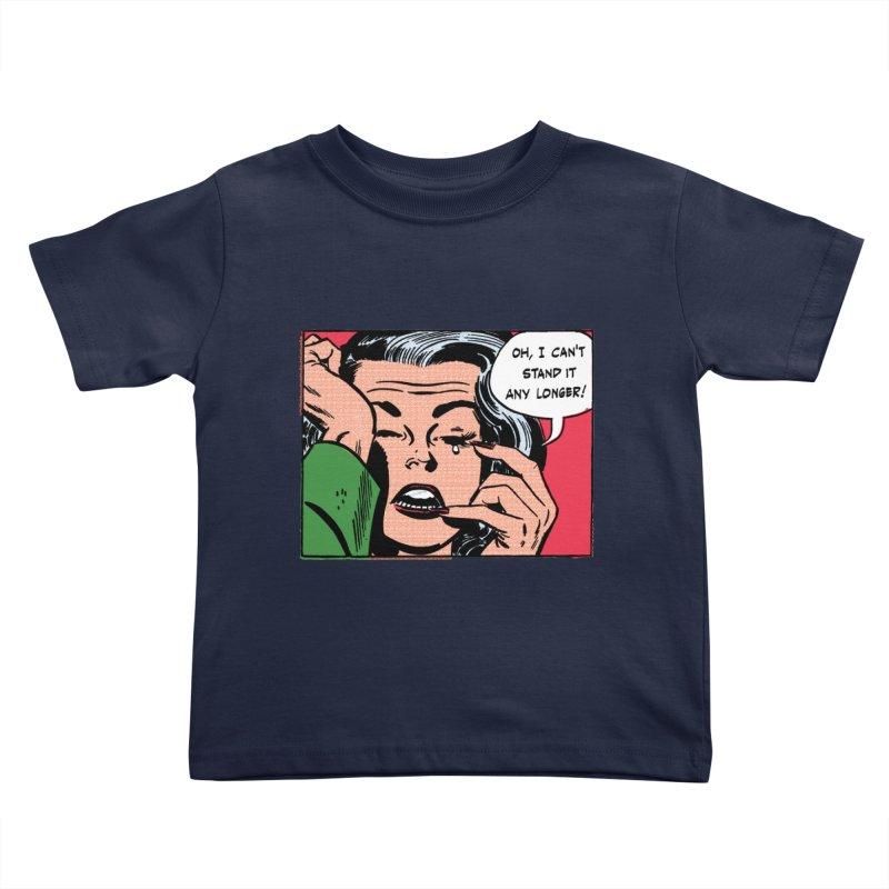 Popmodern Woman Kids Toddler T-Shirt by Nearly Astonishing Designs