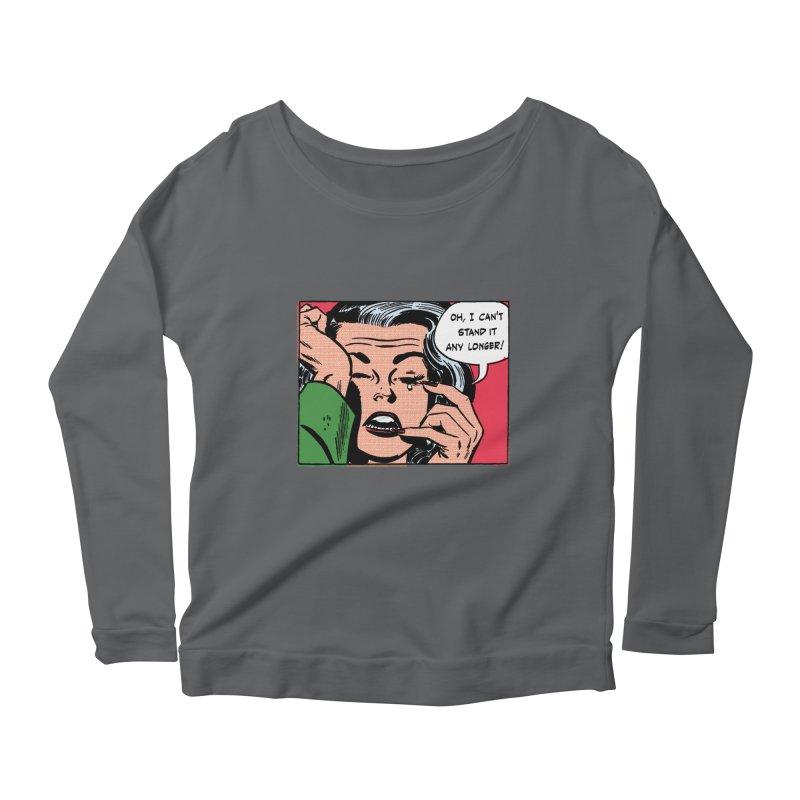 Popmodern Woman Women's Scoop Neck Longsleeve T-Shirt by Nearly Astonishing Designs