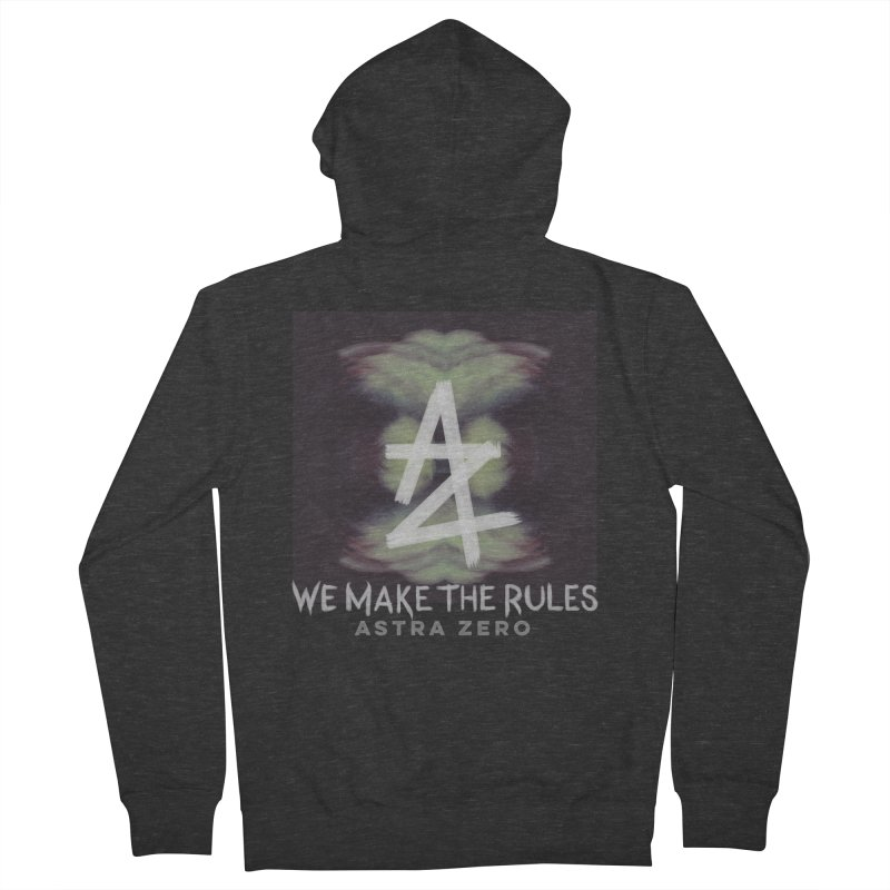 WE MAKE THE RULES Men's Zip-Up Hoody by ASTRA ZERO