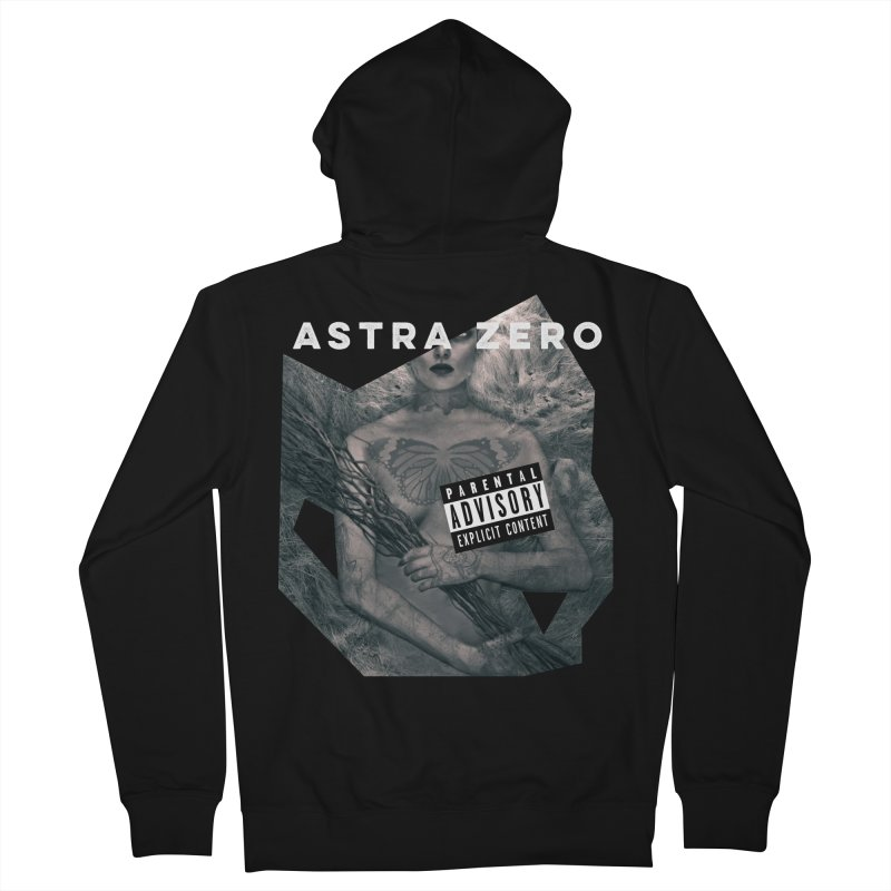 PARENTAL ADVISORY Women's Zip-Up Hoody by ASTRA ZERO