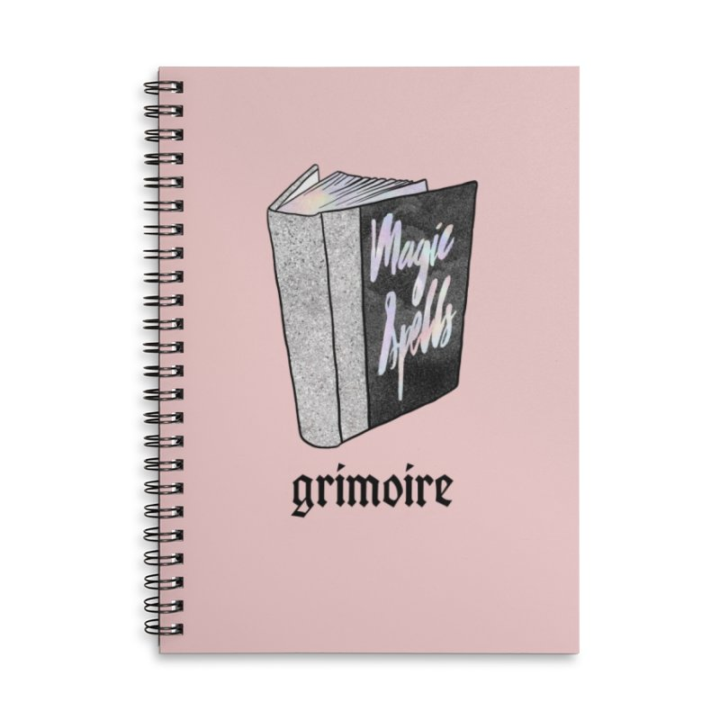 Grimoire Accessories Notebook by Astro Kitty