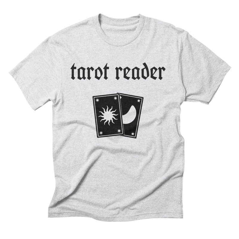 Tarot Reader Men's T-Shirt by Astro Kitty