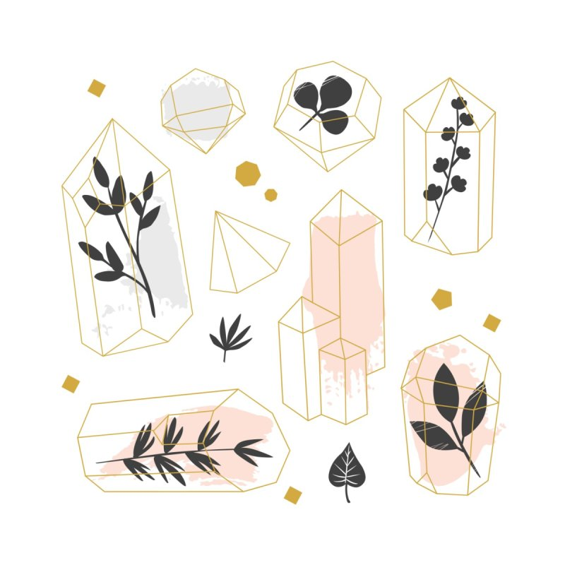 Crystals & Herbs by Astro Kitty