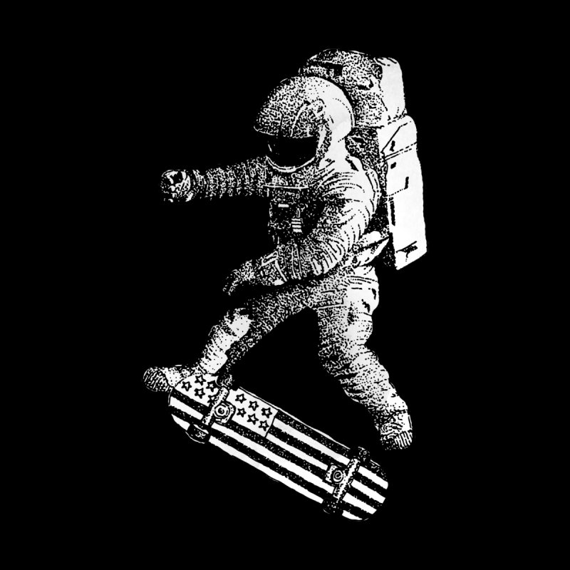 Kickflip in space by Astronaut's Artist Shop
