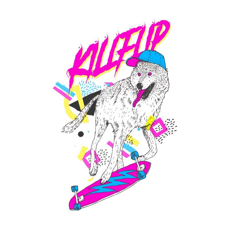 Kickflip None  by Astronaut's Artist Shop