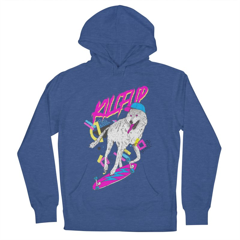 Kickflip Women's Pullover Hoody by Astronaut's Artist Shop