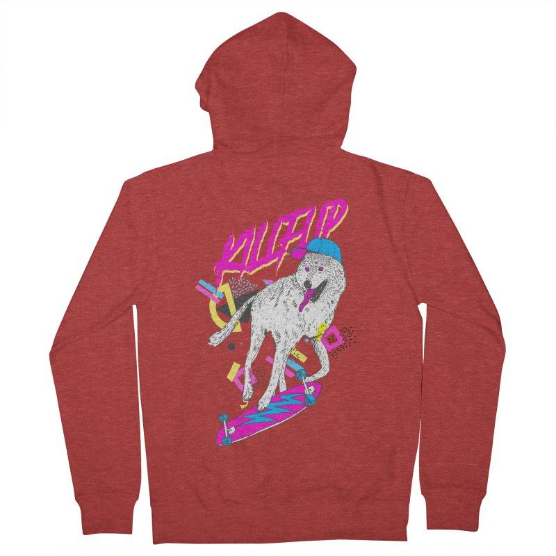 Kickflip Women's Zip-Up Hoody by Astronaut's Artist Shop