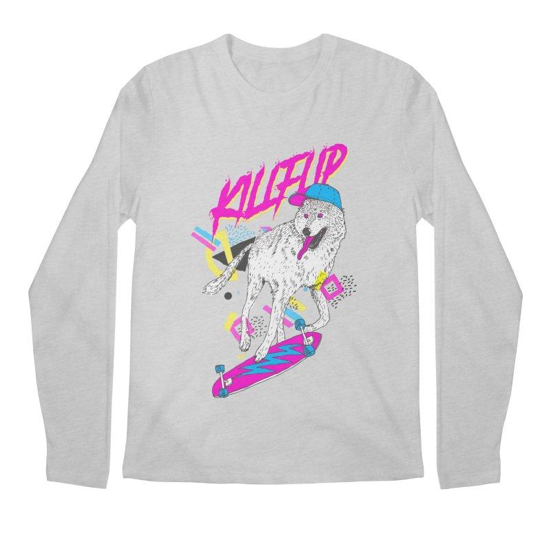 Kickflip Men's Longsleeve T-Shirt by Astronaut's Artist Shop