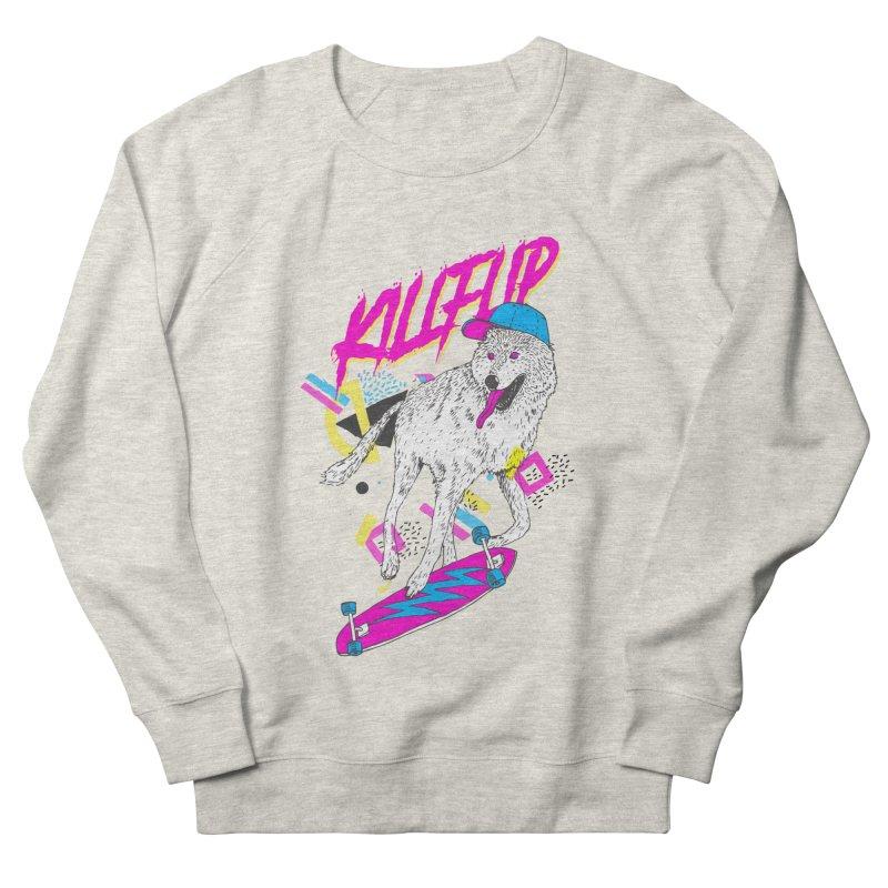Kickflip Men's Sweatshirt by Astronaut's Artist Shop