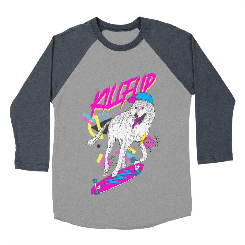 Kickflip Women's Baseball Triblend T-Shirt by Astronaut's Artist Shop